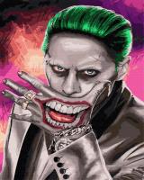 Картины по номерам 40х50 Улыбка Джокера